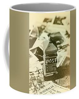 Vintage Australian Postage Art Coffee Mug