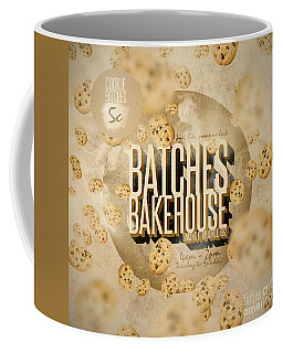 Vintage Bakery Ad - Batches Bakehouse Coffee Mug