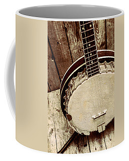 Vintage Banjo Barn Dance Coffee Mug