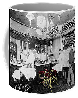 Vintage Barbershop 4 Coffee Mug