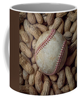 Vintage Baseball And Peanuts Square Coffee Mug