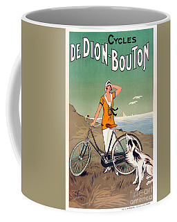 Vintage Bicycle Advertising Coffee Mug