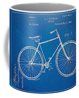 Vintage Bicycle Patent Artwork 1894 Coffee Mug