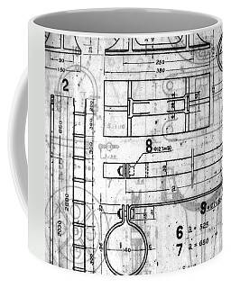 Vintage Blueprints Coffee Mug