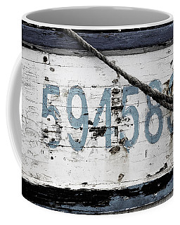 Vintage Boat Number Coffee Mug