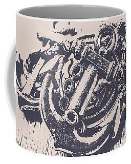 Vintage Boating Anchor Coffee Mug