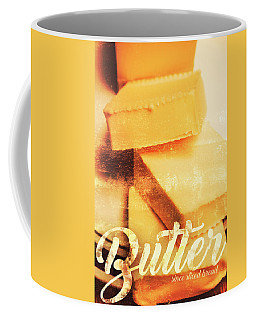 Vintage Butter Advertising. Kitchen Art Coffee Mug