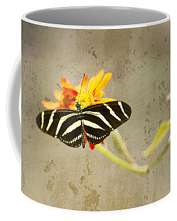 Vintage Butterfly Coffee Mug