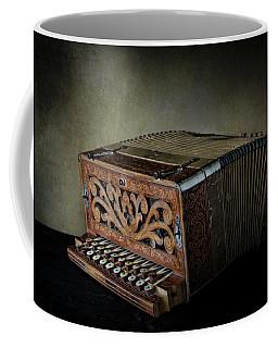 Vintage Button Accordion Coffee Mug by David and Carol Kelly