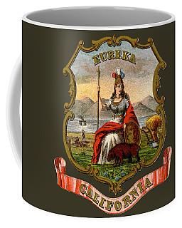 Vintage California Coat Of Arms Coffee Mug