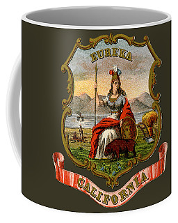 Vintage California Coat Of Arms Coffee Mug