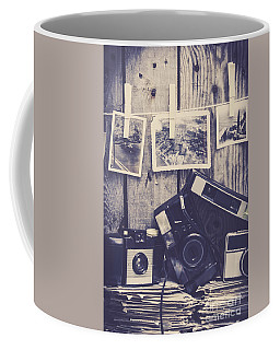 Vintage Camera Gallery Coffee Mug