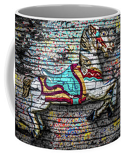 Vintage Carousel Horse Coffee Mug