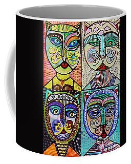 Vintage Cat Ladies Coffee Mug