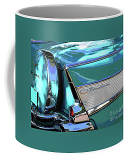 Coffee Mug featuring the photograph Vintage Chevrolet Belair by The Art of Alice Terrill