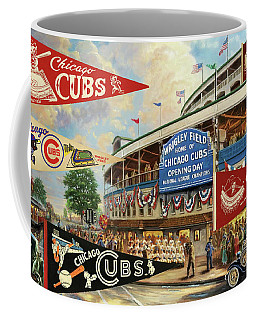 Vintage Chicago Cubs Coffee Mug
