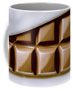 Vintage Chocolate Block Macro Coffee Mug