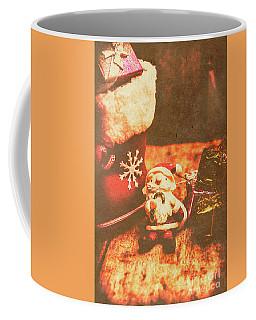 Vintage Christmas Art Coffee Mug