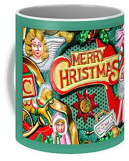 Vintage Christmas Sign Coffee Mug