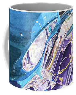 Coffee Mug featuring the painting Vintage Chrome by Lynne Reichhart