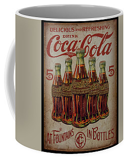 vintage Coca Cola sign Coffee Mug