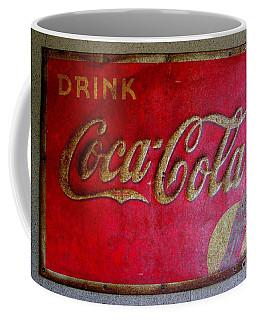 Vintage Coca-cola Sign Coffee Mug
