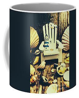 Vintage Cruise Deck Details Coffee Mug