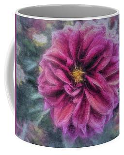 Vintage Dahlia Coffee Mug