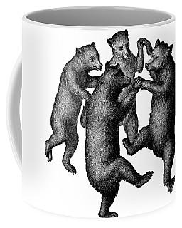 Vintage Dancing Bears Coffee Mug