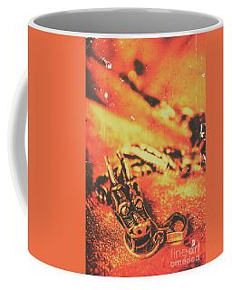 Vintage Dragon Charm Coffee Mug