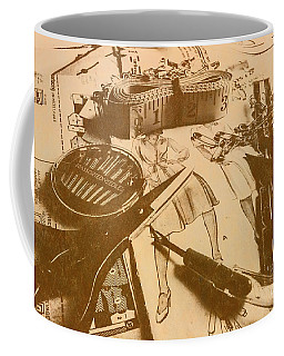 Vintage Fashion Design Coffee Mug
