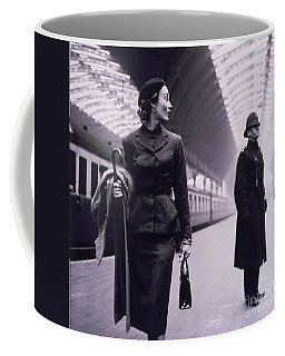 Vintage Fashion Elegant Lady Coffee Mug