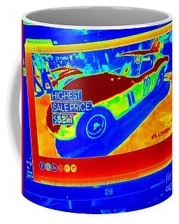 Heat Map Vintage Ferrari G T O Most Expensive Car Ever Sold  Coffee Mug