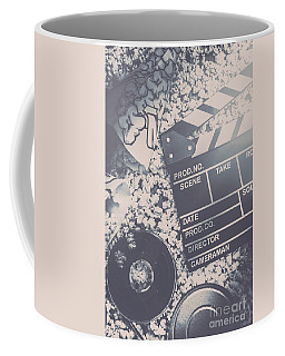 Vintage Film Production Coffee Mug