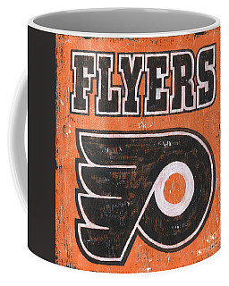 Vintage Flyers Sign Coffee Mug