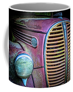 Vintage Ford Firetruck Coffee Mug