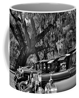 Vintage Ford Line-up At Magnolia Plantation - Charleston Sc Coffee Mug