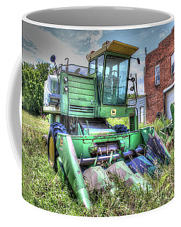 Vintage Four Row Corn Picker Coffee Mug