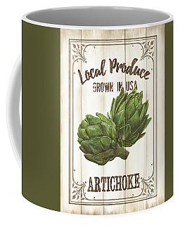 Coffee Mug featuring the painting Vintage Fresh Vegetables 2 by Debbie DeWitt