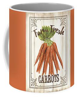 Coffee Mug featuring the painting Vintage Fresh Vegetables 3 by Debbie DeWitt