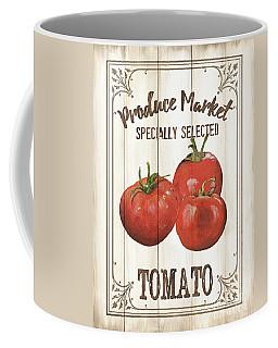 Coffee Mug featuring the painting Vintage Fresh Vegetables 4 by Debbie DeWitt