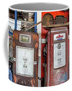 Vintage Gas Pumps Coffee Mug
