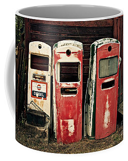 Vintage Gas Pumps Coffee Mug