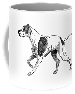 Vintage German Shorthaired Pointer Coffee Mug by Marian Cates