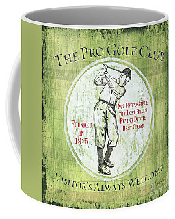 Vintage Golf Green 2 Coffee Mug