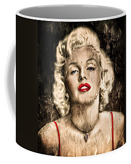 Vintage Grunge Goddess Marilyn Monroe  Coffee Mug