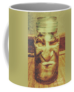 Vintage Halloween Horror Jar Coffee Mug