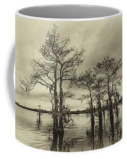 Coffee Mug featuring the photograph Vintage Henderson Swamp  by Andy Crawford