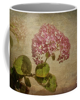 Coffee Mug featuring the photograph Vintage Hydrangea by Elaine Teague