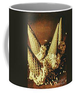 Vintage Ice Cream Cones Still Life Coffee Mug
